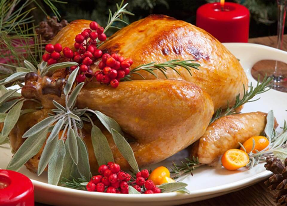 How to cook christmas turkey