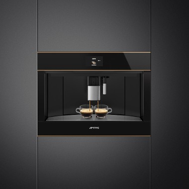 Smeg Dolce Stil Novo aesthetic line Buil-in coffee machine