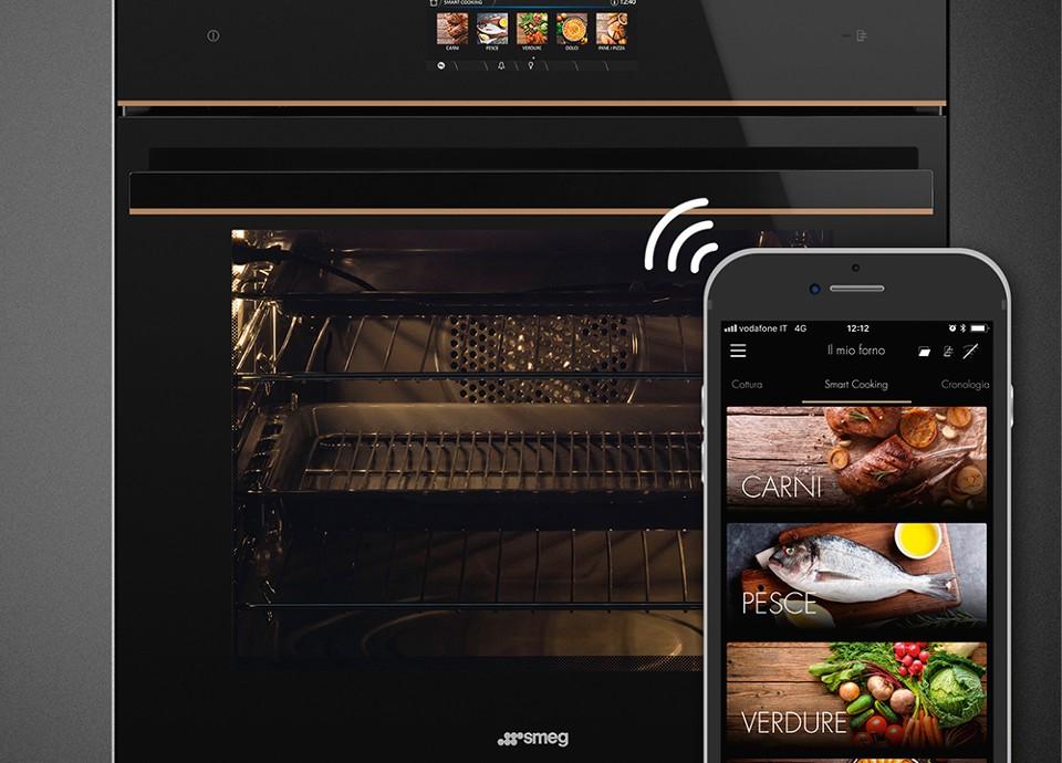 SmegConnect keukentoestellen