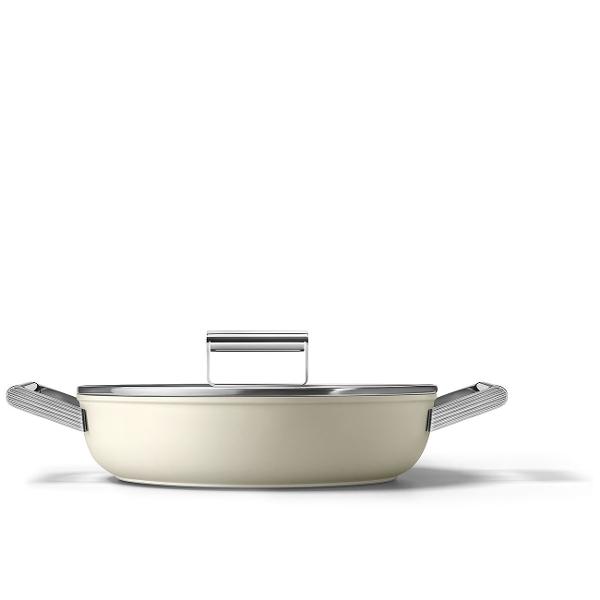 tegame con coperchio  |Linea Cookware Smeg