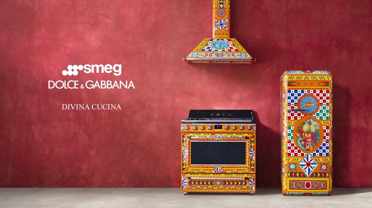 Divina Cucina Smeg and Dolce&Gabbana