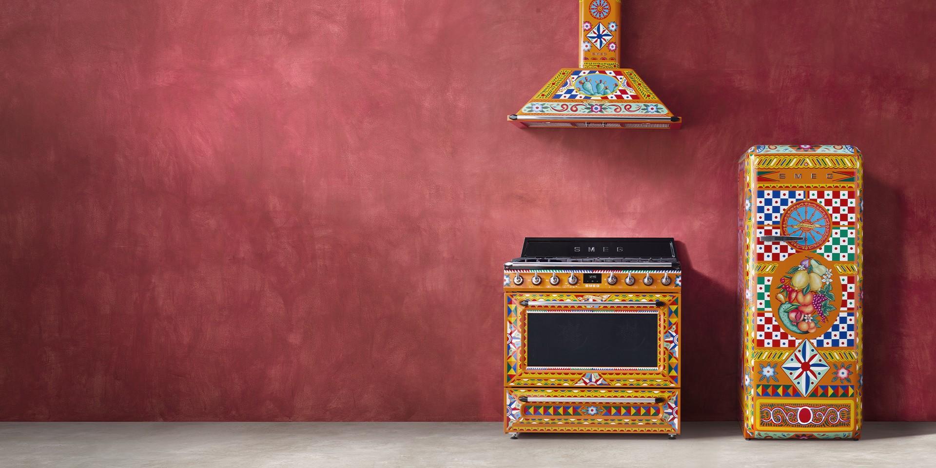 Home domestic appliances Smeg and Dolce&Gabbana