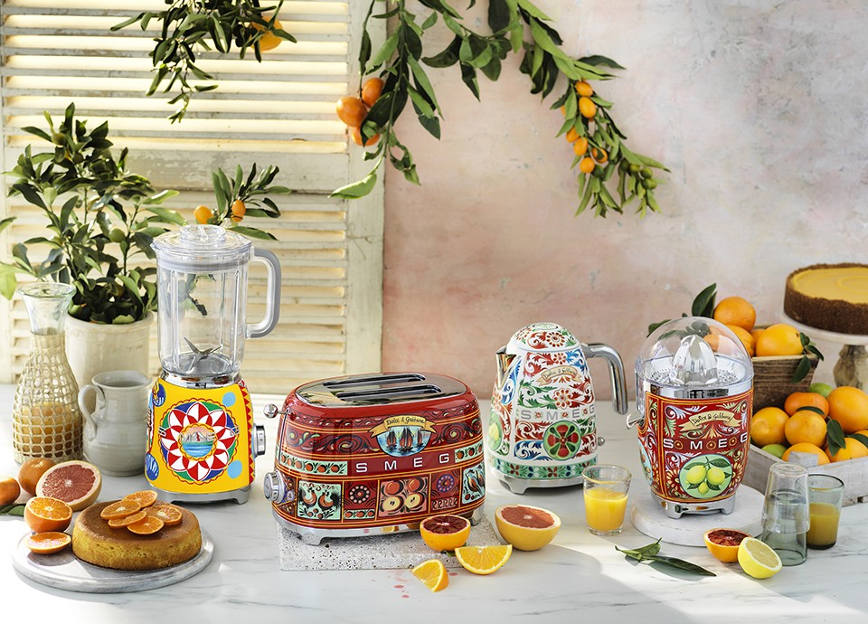 Sicily is my love collection - Smeg and Dolce&Gabbana