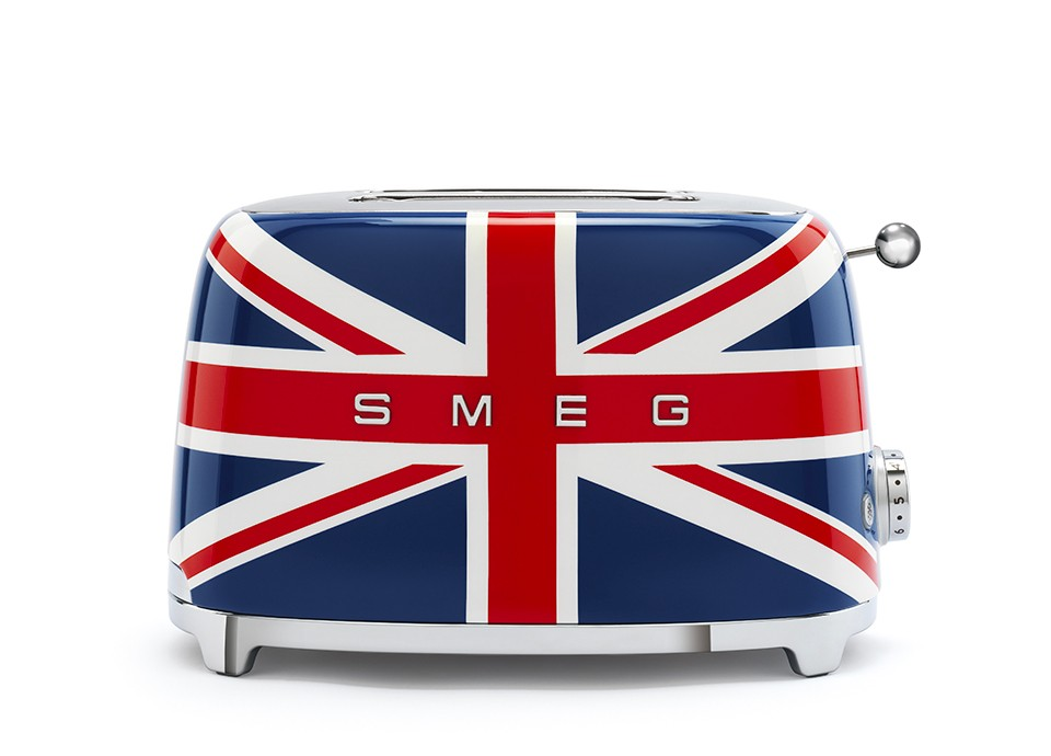 Toaster with a British look