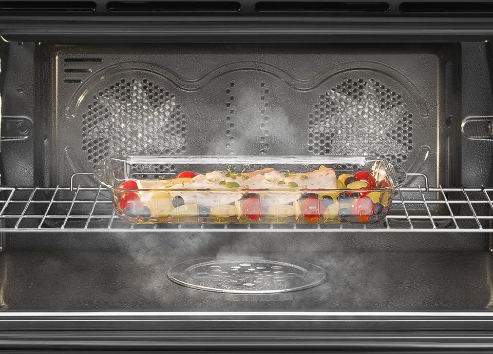Cocinas con horno a vapor