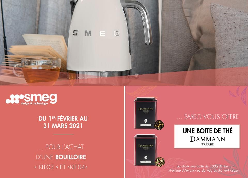 PROMOTION - Une boite de thé Dammann Frères offerte
