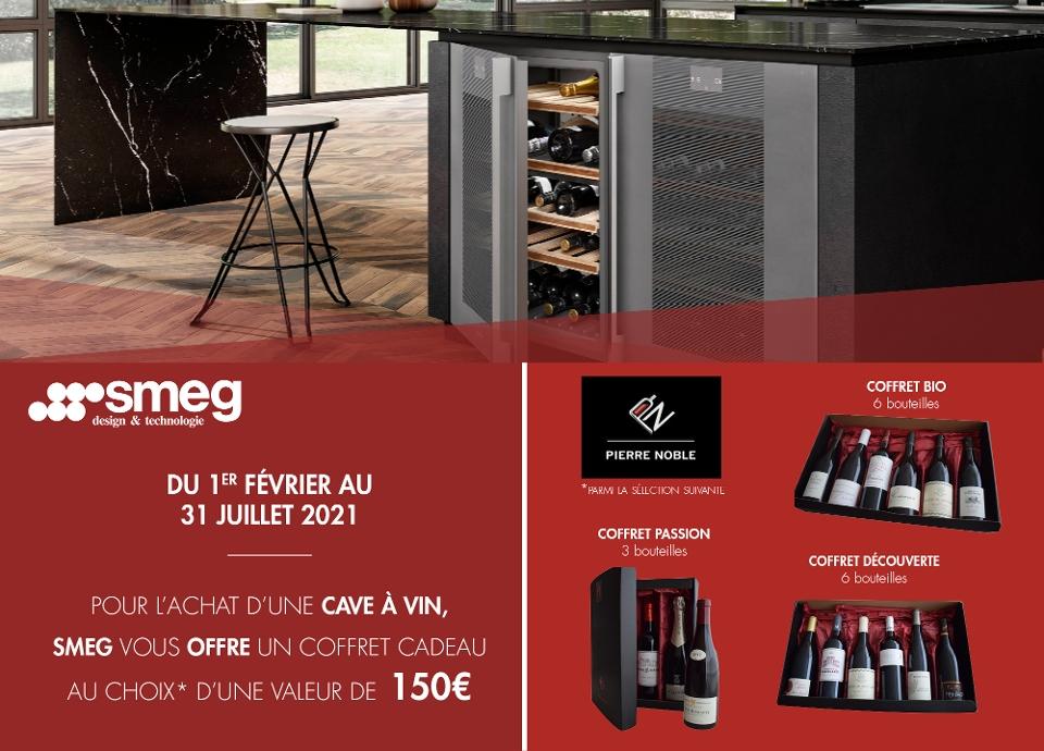 PROMOTION - Un coffret de bouteilles de vin offert