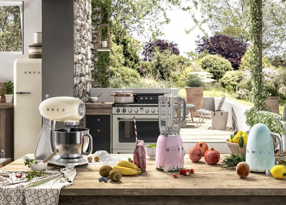 Electrodomésticos con color, estilo y un diseño retro