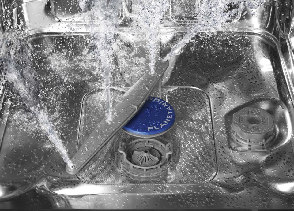 Planetarium wash system