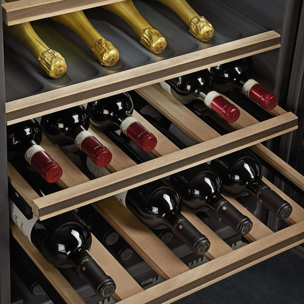 Load capacity up to 38 bottles