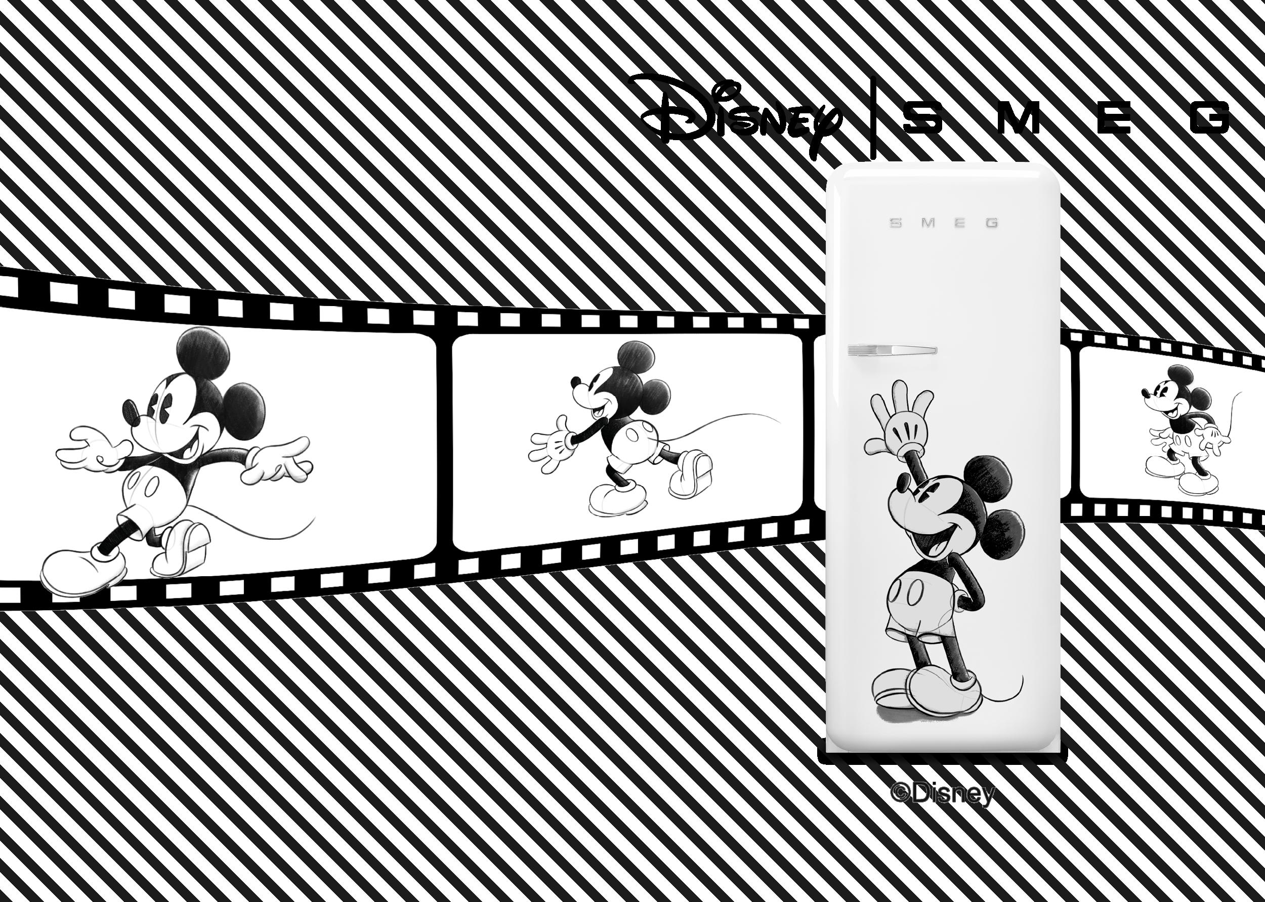 Nouvelle édition du réfrigérateur FAB : SMEG x Mickey Mouse | SMEG France