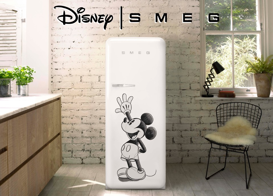 NEW EDITION OF THE FAB MICKEY MOUSE FRIDGE
