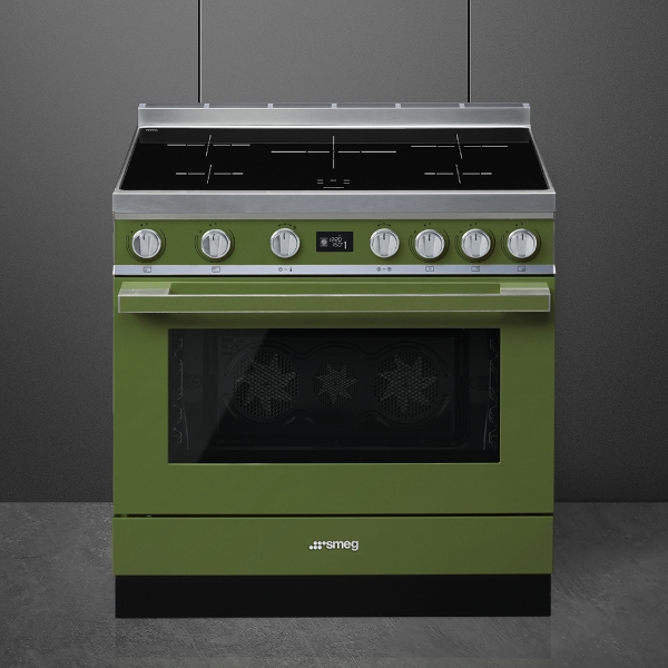 Smeg cookers with electric hob