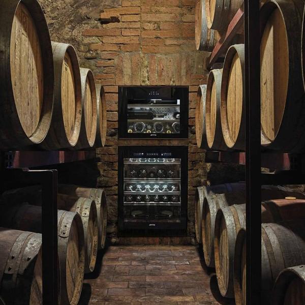 opération commerciale promo cave à vin smeg bouteille vin