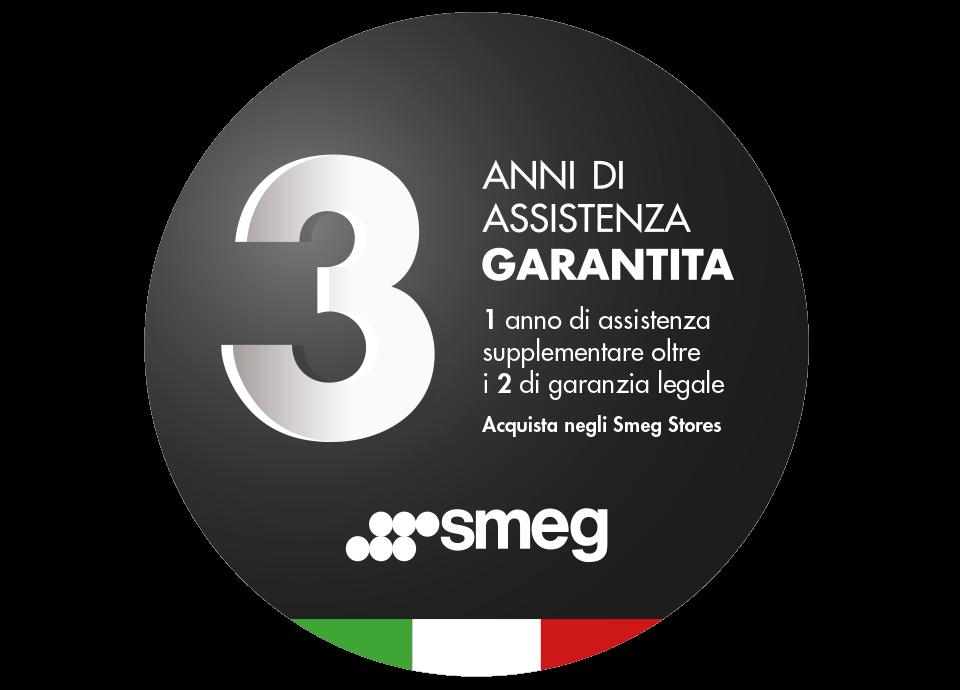 Promozione Smeg Stores: 3 anni di assistenza garantita