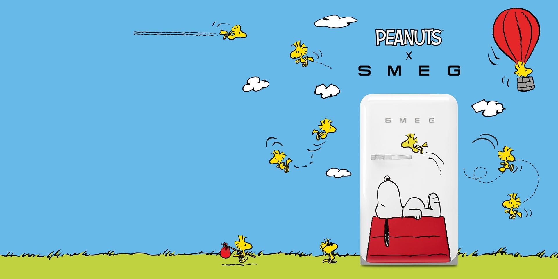 SMEG viert 70e verjaardag Snoopy