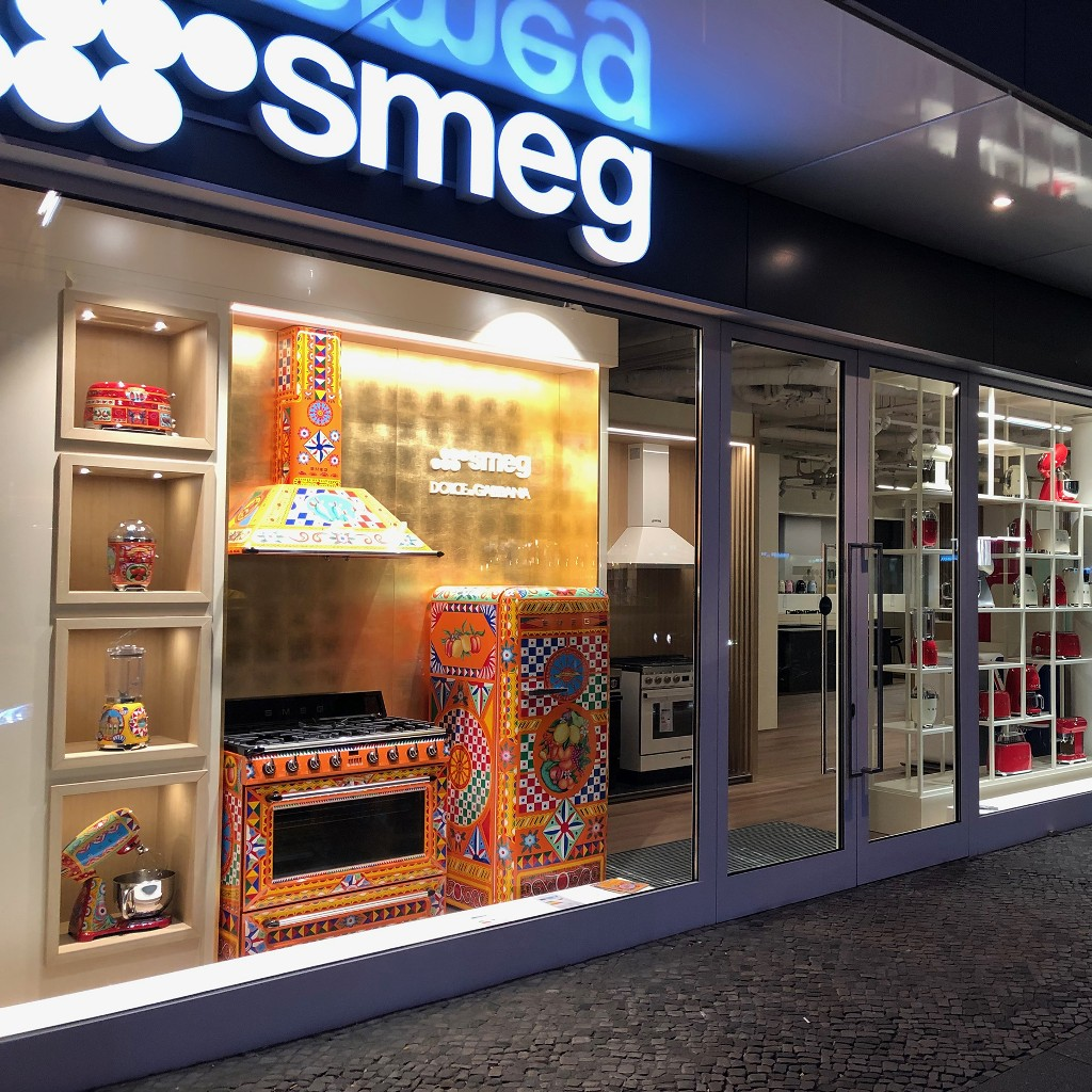 REOPENING SMEG STORE BERLIN