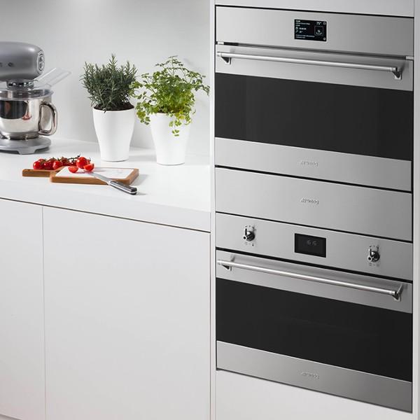 How to configure Smeg built-in home appliances