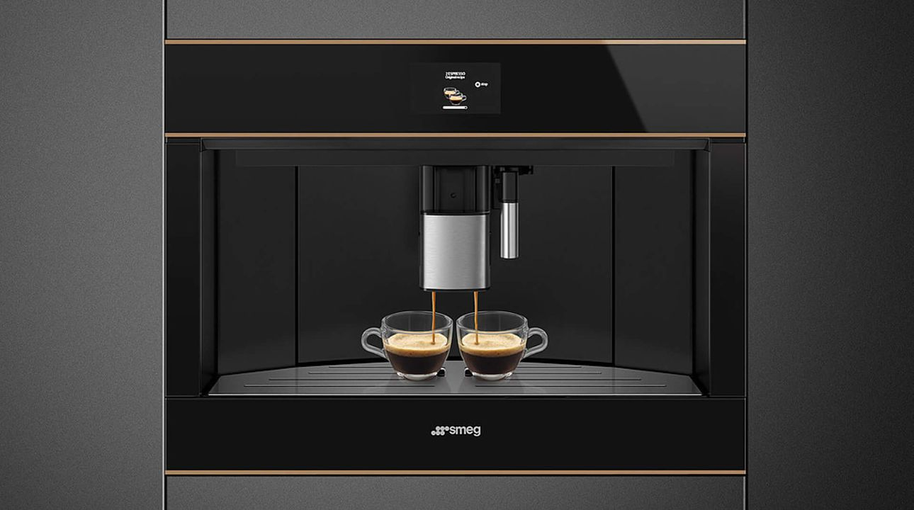 Built-in espresso coffee machines