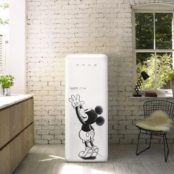 FAB28 Mickey Mouse Fridge - Smeg