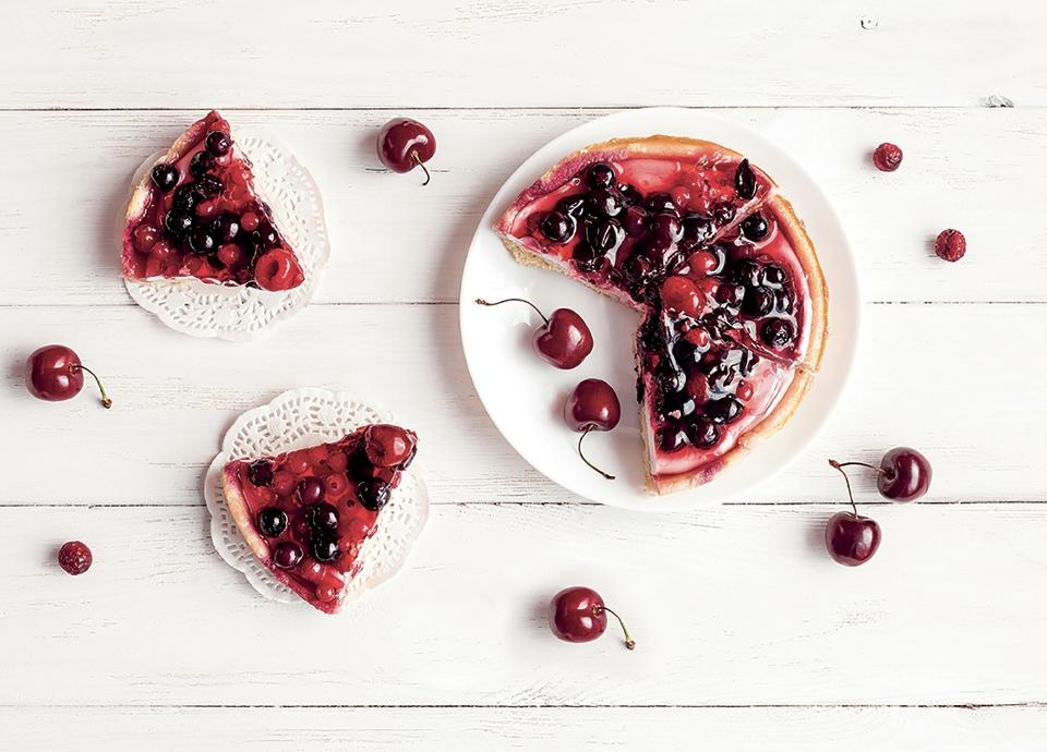 Ricetta Cheesecake con frutti di bosco