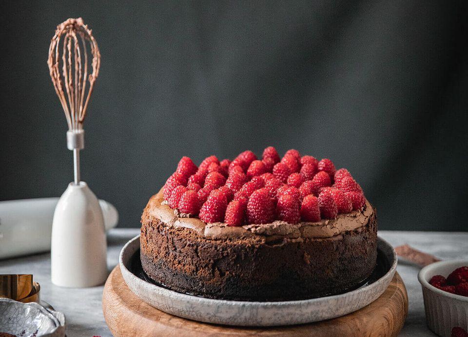 Cheesecake de St Valentin Smeg