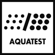 Aquatest measures the clarity of the water during an auto program, and automatically ensures the minimum consumption of water and energy.